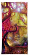 13 Abstract Japanese Maple Tree Hand Towel
