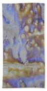 13. Cascade Brown Glaze Painting Bath Towel