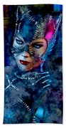 Catwoman Hand Towel
