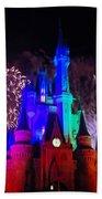 Cinderella Castle Bath Towel