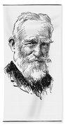 George Bernard Shaw Bath Towel