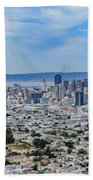 San Francisco Skyline  Bath Towel