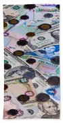 Travel Money - World Economy Bath Towel