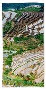 Longji Terraced Fields Scenery Hand Towel
