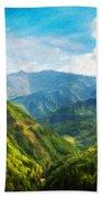 Landscape Nature Art Bath Towel