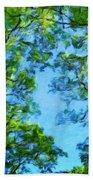 Landscape Nature Scene Bath Towel