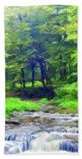 Nature Landscape Artwork Bath Towel