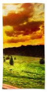 Nature Work Landscape Bath Towel