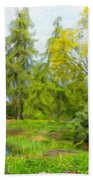 Landscape Nature Pictures Bath Towel