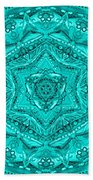 Birth Mandala- Blessing Symbols Bath Towel