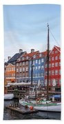 Copenhagen - Denmark Bath Towel