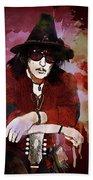 Deep Purple. Ritchie Blackmore. Bath Towel