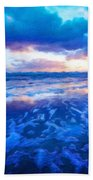 Landscape Nature Scene Bath Towel