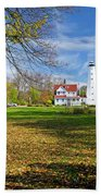 1406 North Point Lighthouse Hand Towel