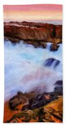 Landscape Paintings Nature Bath Towel