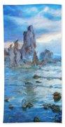 Art Landscape Nature  Bath Towel