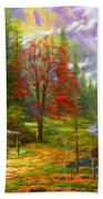 Nature Landscape Nature Bath Towel