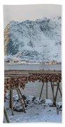 Reine, Lofoten - Norway Bath Towel