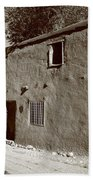 Santa Fe - Adobe Building Bath Towel