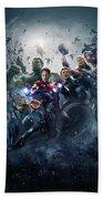 The Avengers Age Of Ultron 2015  Bath Towel
