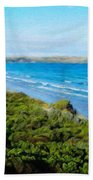 Nature Landscape Illumination Bath Towel