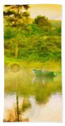 Nature Work Landscape Bath Towel
