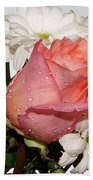 Beautiful Rose Bath Towel