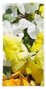 ,, Flowers ,, Bath Towel