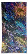 16-4 Space Explosion Canvas Bath Towel