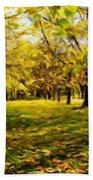 Oil Paintings Art Landscape Nature Bath Towel