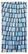 Blue Tiles Bath Towel