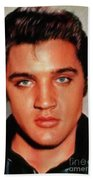Elvis Presley, Rock And Roll Legend Bath Towel