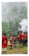 1763 Bushy Run British Counterattack Bath Towel