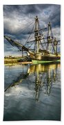 1797 Trading Ship Replica - Friendship Of Salem Bath Towel