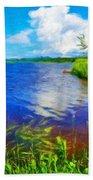 Nature Oil Paintings Landscapes Bath Towel