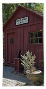 1883 Little Red Schoolhouse Hand Towel