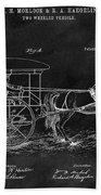 1888 Horse Drawn Carriage Bath Towel