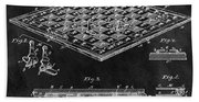 1896 Chessboard Patent Bath Towel