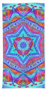 Birth Mandala- Blessing Symbols Bath Towel