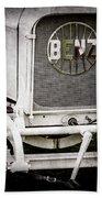 1908 Benz Prince Heinrich Two Seat Race Car Grille Emblem -1696ac Bath Towel