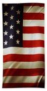 American Flag  Bath Towel