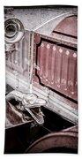 1912 Rolls-royce Silver Ghost Rothchild Et Fils Style Limousine Snake Horn -0711ac Bath Towel