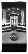 1917 Winton Six-33 Sport Touring Hood Ornament 2 Bath Towel