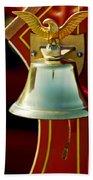 1919 Fire Truck Bell Hand Towel
