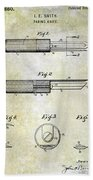 1920 Paring Knife Patent Bath Towel