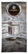 1920 Pierce-arrow Model 48 Coupe Hood Ornament -2829ac Hand Towel by Jill Reger