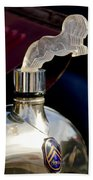 1925 Citroen Cloverleaf Hood Ornament Bath Towel