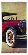 1926 Chrysler  Bath Towel