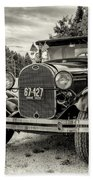 1929 Ford Model A Pickup Bath Towel