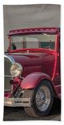 1929 Ford Model A Tudor Sedan Hand Towel by Gene Healy